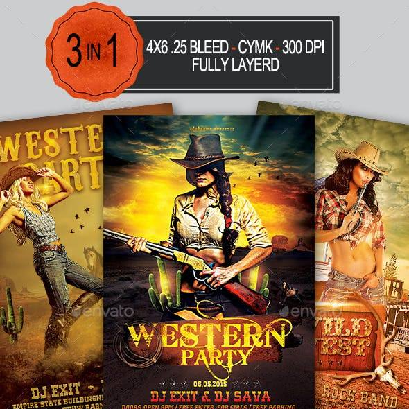 3in1 Western Flyer Bundle
