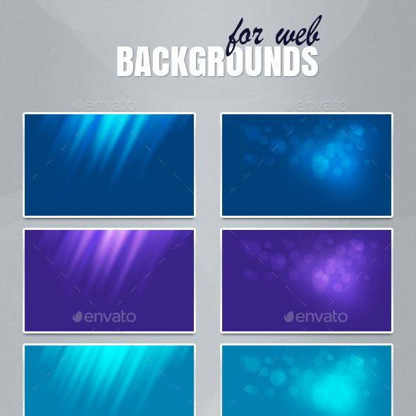 Backgrounds for web