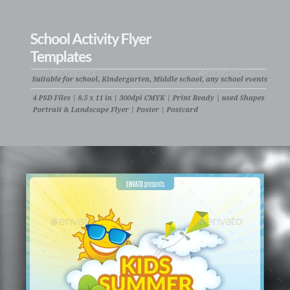 School Activity Flyer