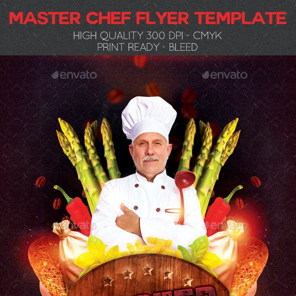 Master Chef Flyer Template