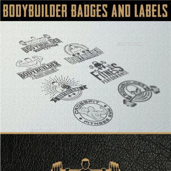 Bodybuilding - Labels & Badges