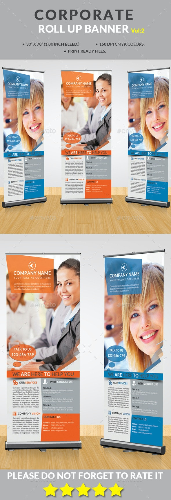 Corporate Roll-up Banner Vol:2