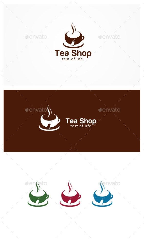 Tea Shop - Symbols Logo Templates