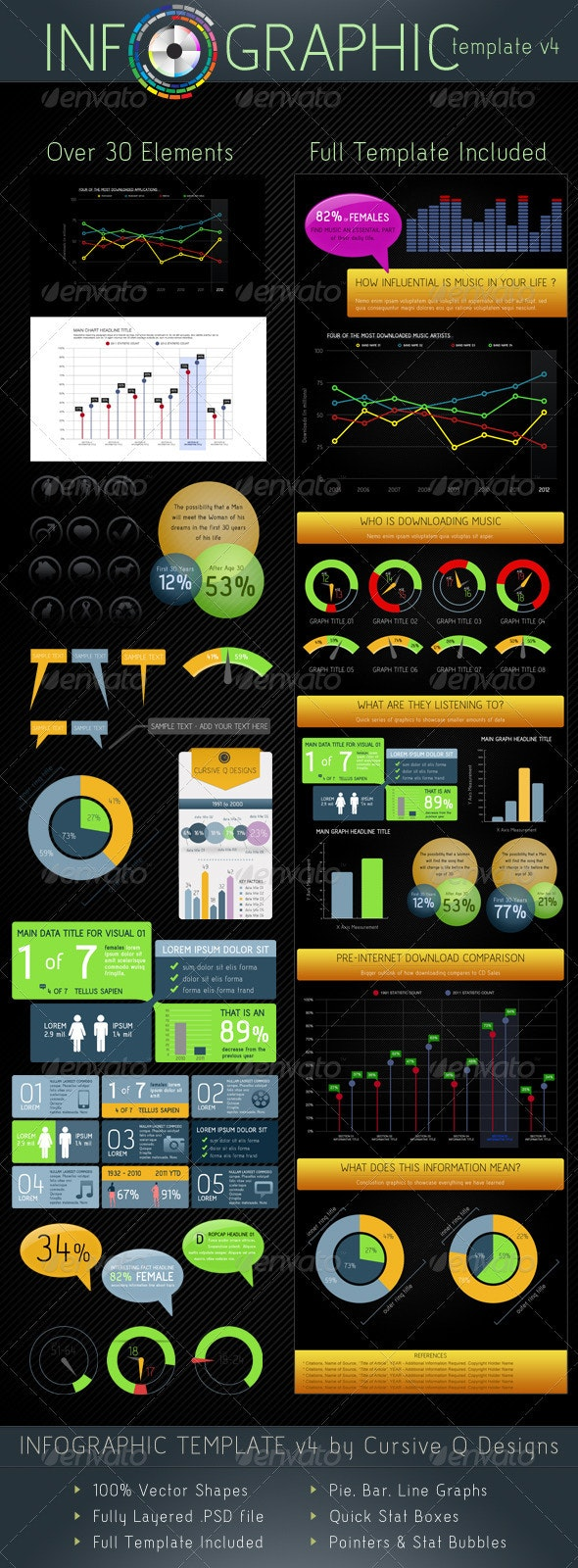 Infographic Template v4 - Infographics