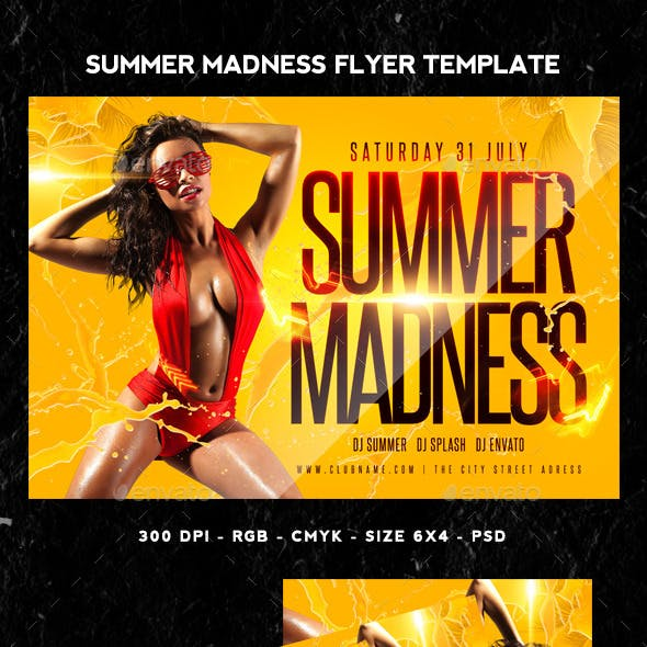 Summer Madness Flyer
