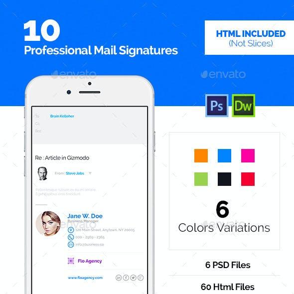 60 Email Signature