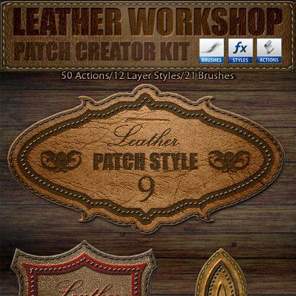 Leather Workshop: Patch Creator Kit