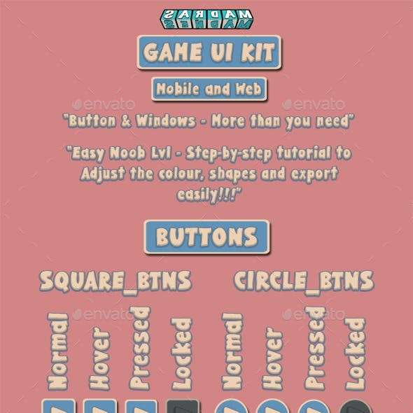 GAME UI KIT - PACK No.1