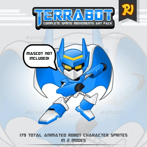 Terrabot Game Player Art Pack