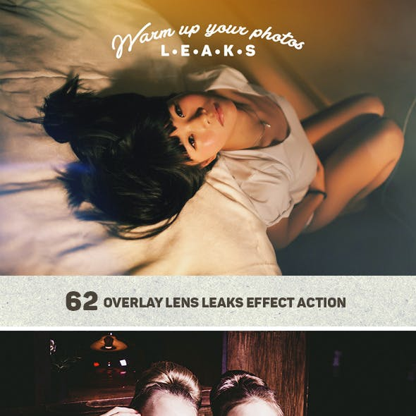 Lens Leaks Photo Warmer Actions