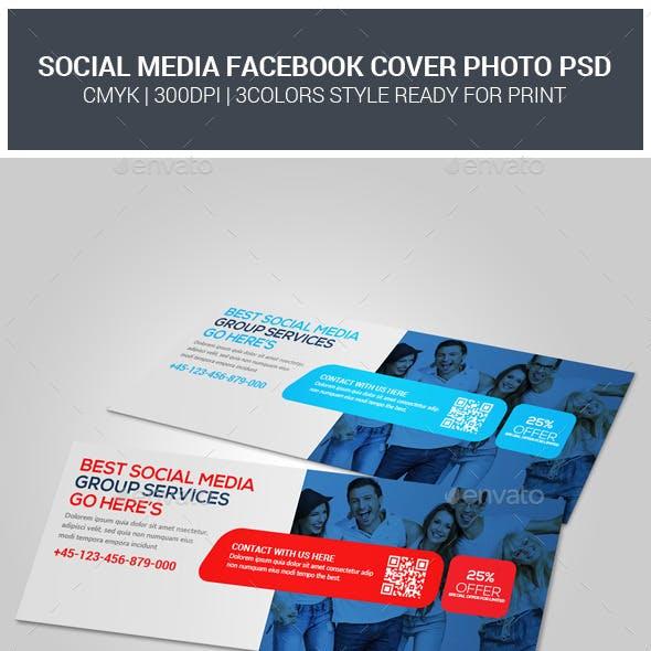 Social Media Group Facebook Cover Timeline