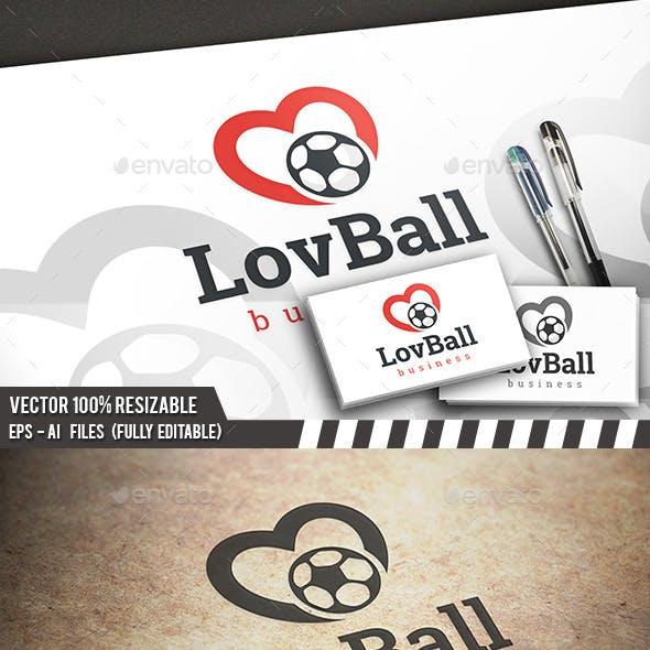 Football Love Logo