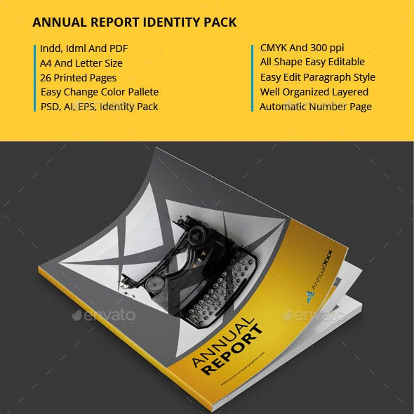 Annual Report Identity Pack