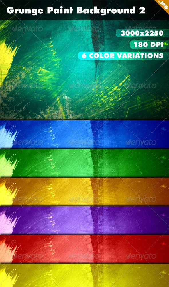 Grunge Paint Background 2 - Backgrounds Graphics