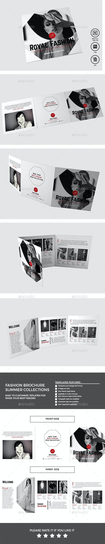 Fashion Brochure - Brochures Print Templates