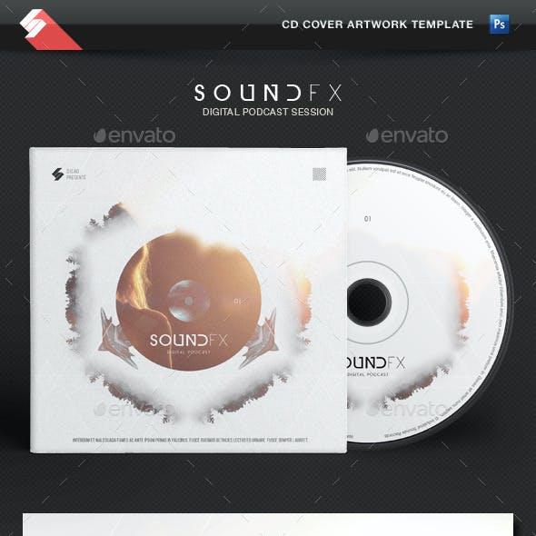 Sound FX - CD Cover Artwork Template
