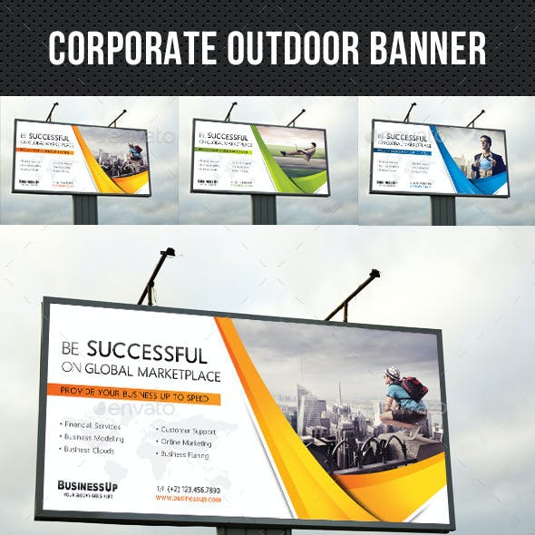 Corporate Outdoor Banner 35