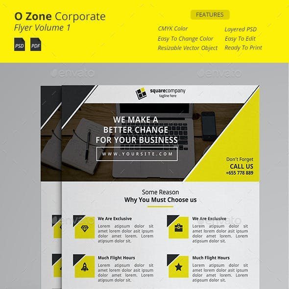 O zone Corporate Flyer