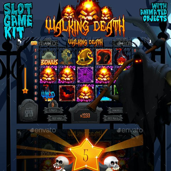 Halloween slot game kit