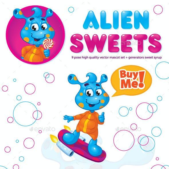 Mascot Alien Sweets