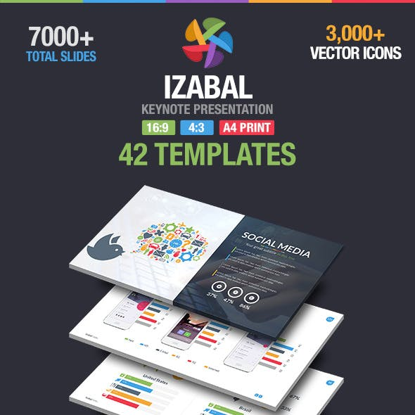 Izabal Multipurpose Keynote Template