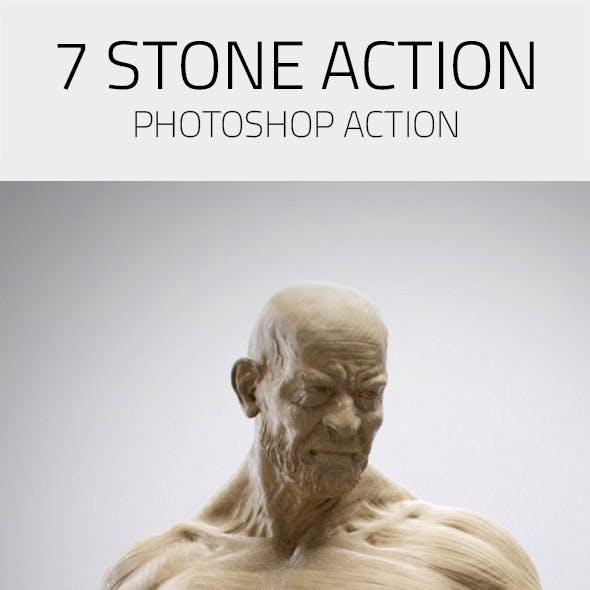 7 Photorealistic Stone Actions