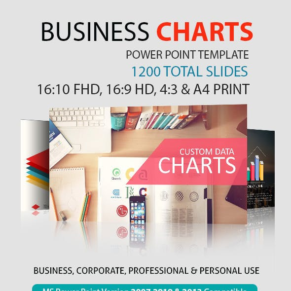 Business Charts Power Point Presentation