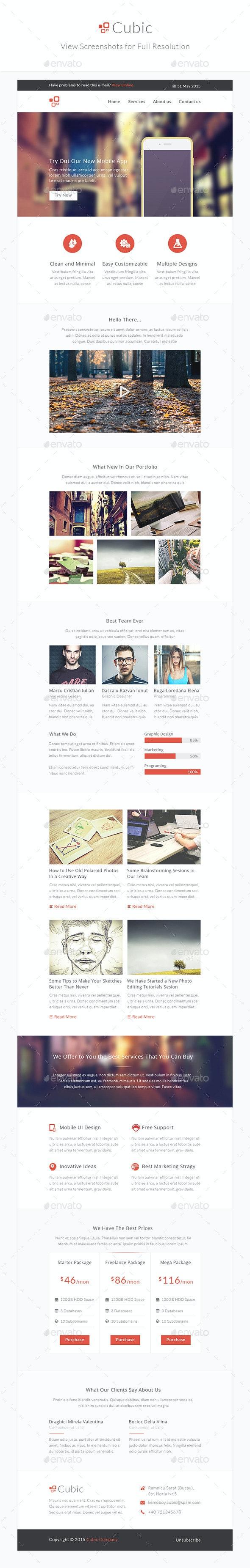 Cubic - Modern Business e-Newsletter