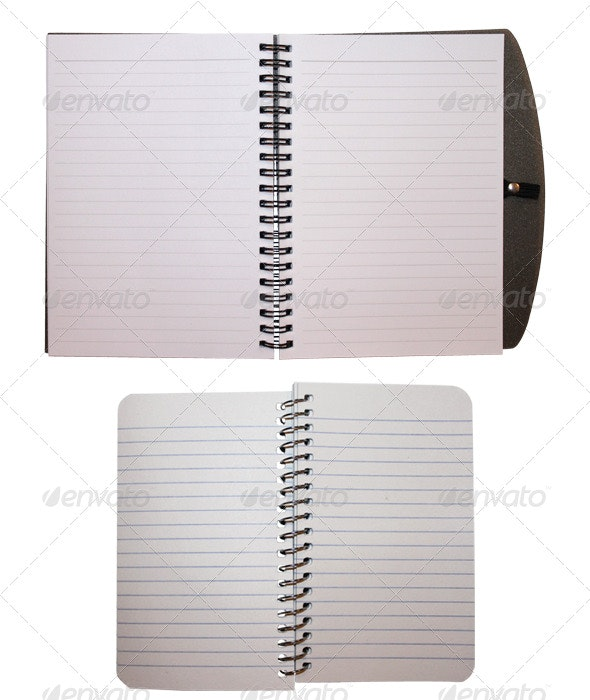 Small Notepads - Home & Office Isolated Objects