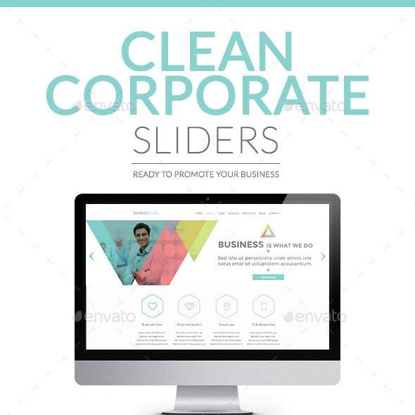 Sliders - Clean Corporate
