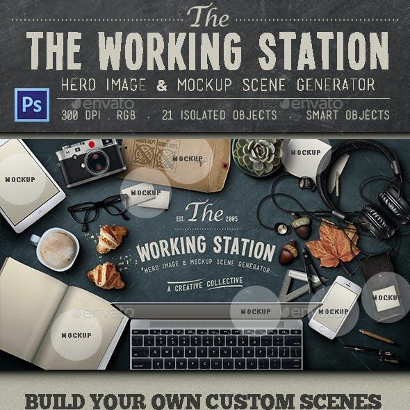 Working Station Hero Image
