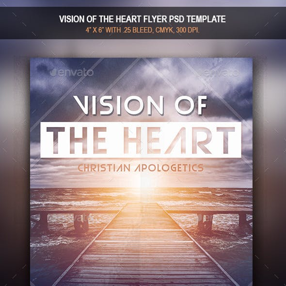 Vision of the heart | Flyer