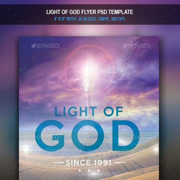 Light of God | Flyer