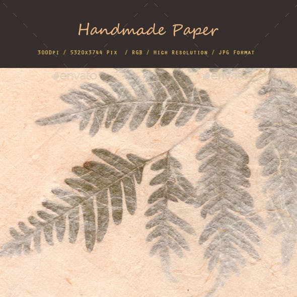 Hand Made Paper 0155