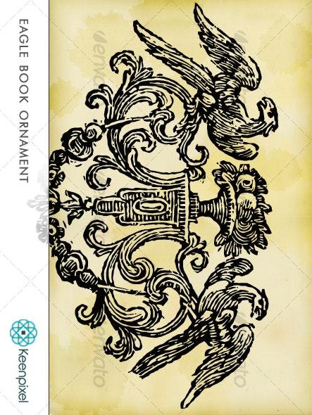 Eagle Ornament - Decorative Symbols Decorative