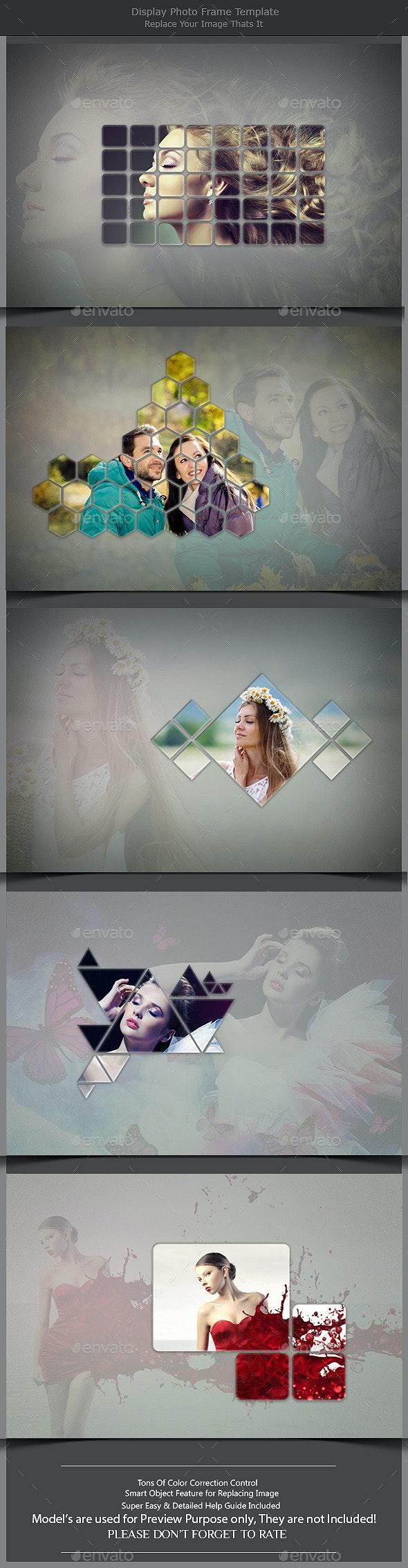 Display Photo Frame Template  - Photo Templates Graphics