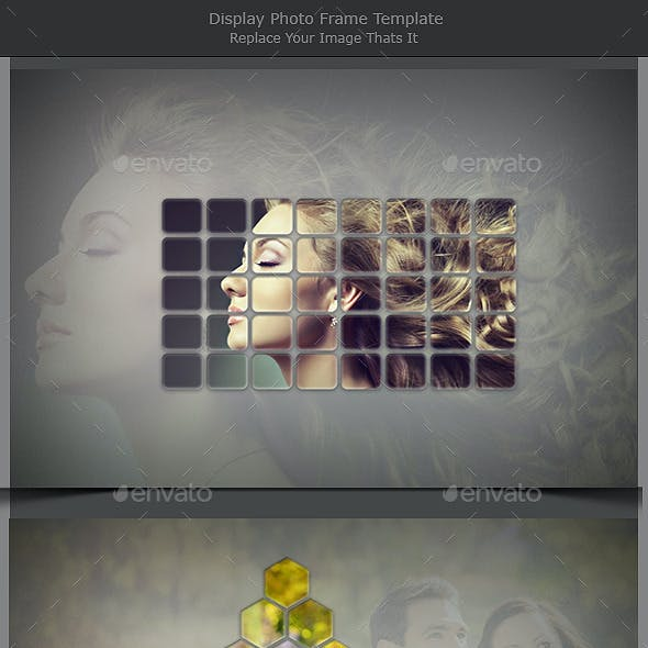 Display Photo Frame Template