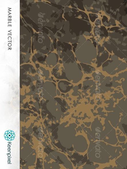 Marbleing Vector - Patterns Decorative