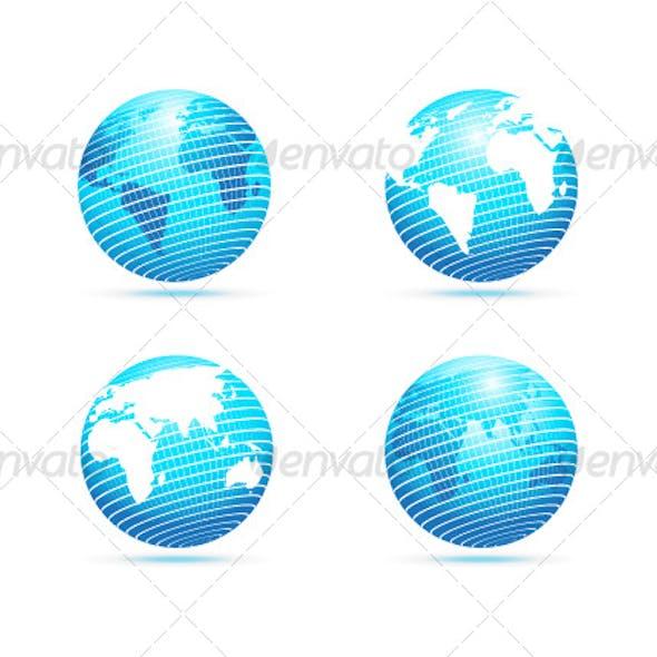 Vector The Globe