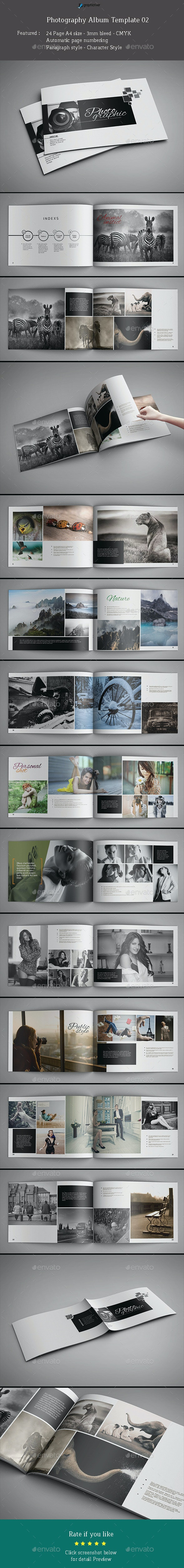17 Best Photo Album Templates  for March 2019