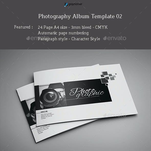 Photography Album Template 02