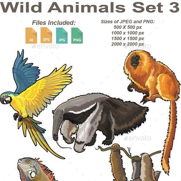 Wild Animals Set 3