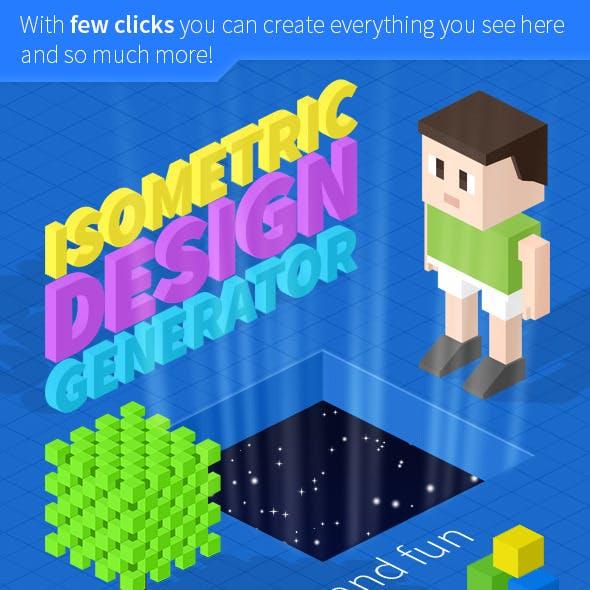 Isometric Design Generator