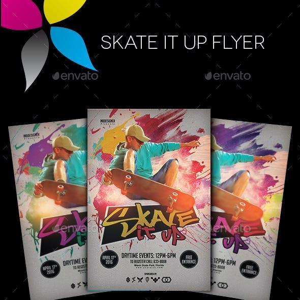 Skate It Up Flyer
