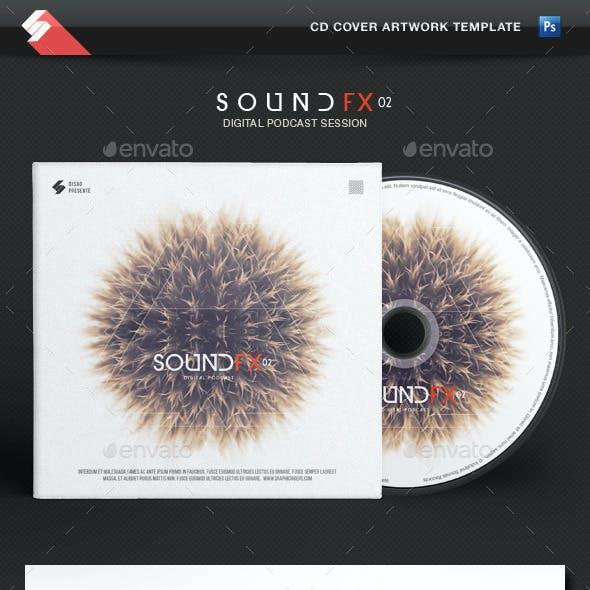 Sound FX vol.2 - CD Cover Artwork Template