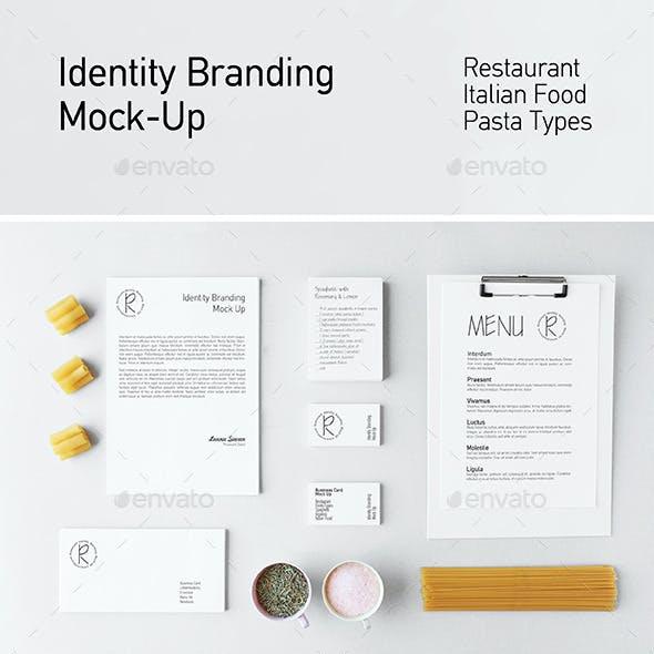 Restaurant Identity Branding Mock-up II