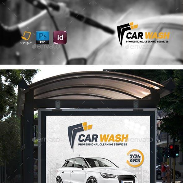 Car Wash Banner Templates