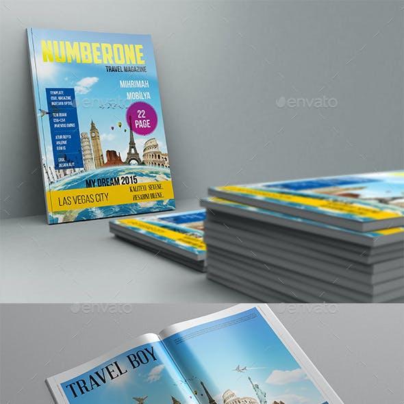 Numberone Magazine Template