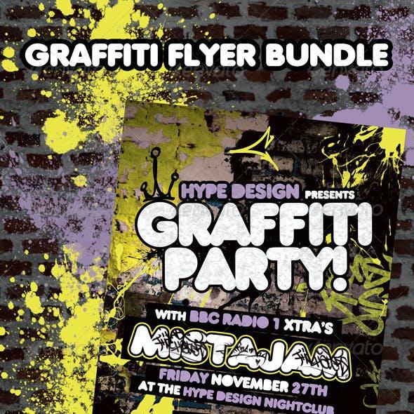 Graffiti Flyer Bundle