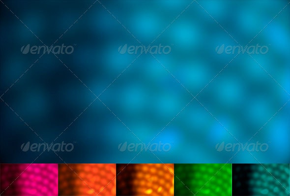 Blurry Dots Background - Abstract Backgrounds